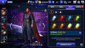 build a doctor marvel future fight doctor strange build details