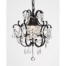 Black Metal Chandeliers Wrought Iron Crystal Chandelier Chandeliers Lighting H27