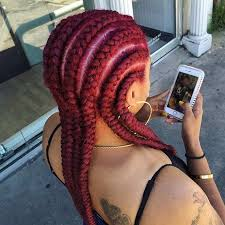 red cornrow braided hair 31 cornrow styles to copy for summer page 3 of 3 stayglam