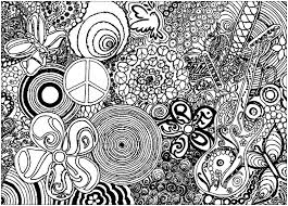 psychedelic patterns music and peace psychedelic coloring