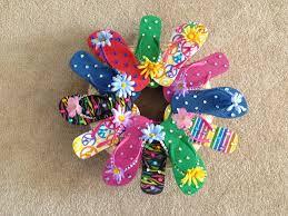 flip flop wreath flip flops retirement it