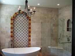 its lizard talavera design in this bathroom but it looks very