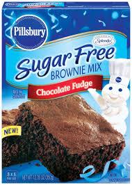 pillsbury sugar free chocolate fudge brownie mix review