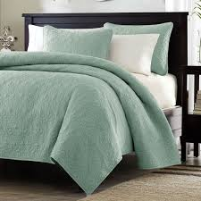 king size coverlets and quilts king size seafoam green blue coverlet set with quilted floral