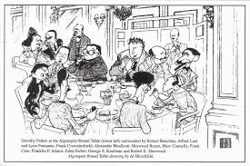 members of the round table attempted bloggery al hirshfeld the algonquin round table