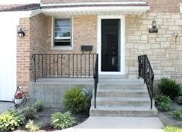 front doors front door painted in railings door ideas front