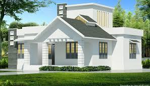 850 sq ft contemporary single floor home design