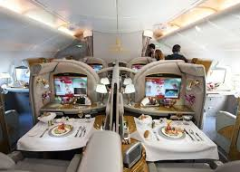 Airbus A 380 Interior The Airbus A380 800 Is A Passenger Plane Made In France With