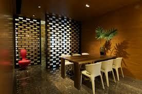 Rajiv Saini Interior Design Minimalist Dining Room Interior Design With