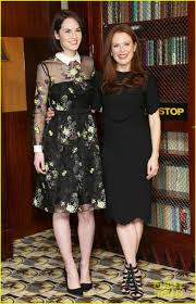 michelle dockery u0026 julianne moore show off their style at u0027non