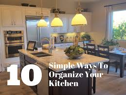 how to organize your kitchen counter 10 simple ways to organize your kitchen