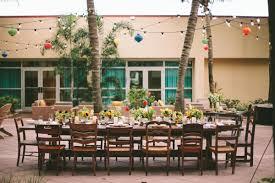 al fresco rehearsal dinner inspiration at west palm beach marriott
