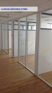 cloison aluminium bureau aplus pose aménagement de bureau cloison de bureau acoustique