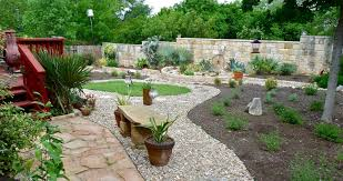 landscape landscaping ideas with stone and mulch pdf in rock and