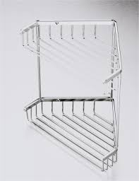 perfect stainless steel corner shower caddy 3 tier bathroom stainless steel corner shower caddy