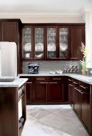 espresso kitchen cabinets with white countertops espresso kitchen cabinets in 12 sleek and cool designs rilane
