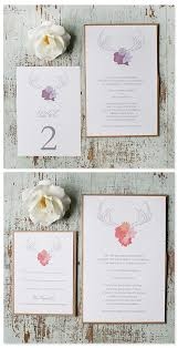 wedding invitations free free antler wedding invitations