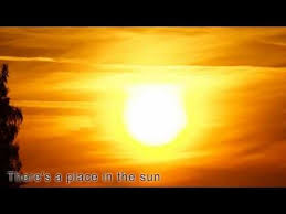 A Place A Place In The Sun Stevie With Lyrics