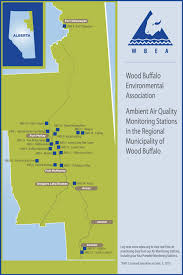 Where Is Fort Mcmurray On A Map Of Canada by How U0027s The Air Up There Oil Sands Monitoring Community Report