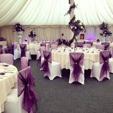 purple chair covers purple wedding chair covers organza hoods for chairs plum a