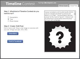 5 facebook timeline contest types and 10 examples you can run now