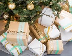 21 ways to upgrade your butcher paper gift wrap brit co butcher paper confetti glitter