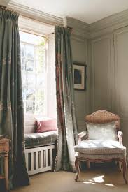 Floor Length Curtains Floor Length Drapes Create A Window Seat Even More Magical