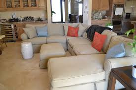 How To Make Slipcover For Sectional Sofa 3 Sectional Slipcovers Cabinets Beds Sofas And