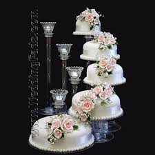 5 tier cake stand stairway tiers cake stand candle stand set with glass