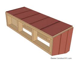 Jack And Jill Chair Plans by Chicken Coop Nest Box Plans Construct101