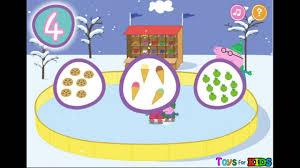 nick jr peppa pig ice skating game free games peppa pig