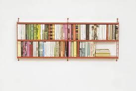 stunning wall mounted bookshelf home designing