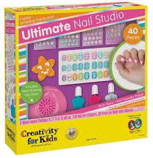 amazon com creativity for kids ultimate nail studio manicure play