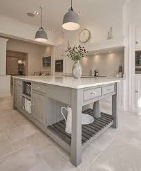 grey kitchen island best 25 grey kitchen inspiration ideas on shaker