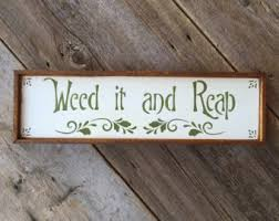 Outdoor And Garden Decor Gypsy Boho Decor Gift For Her Outdoor And Gardening Signs