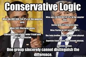 Funny Conservative Memes - conservative logic memes quickmeme