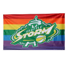 Pride Flag Colors Pride Flag U2013 Seattle Storm Team Shop