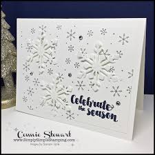 make it in minutes 2 for 1 snowflake cards simply simple