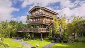 chalet style house uk youtube