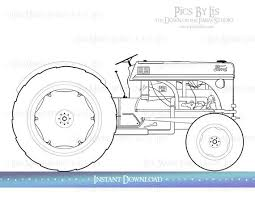 25 tractor coloring pages ideas traktor john
