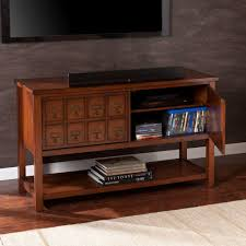 Apothecary Coffee Table by Southern Enterprises Wyoming Brown Mahogany Storage Entertainment