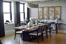themed dining room dining rooms asian themed scrolls and decorative pieces add to