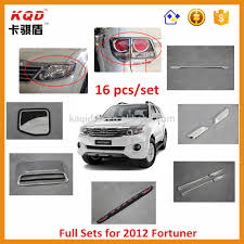 toyota thailand english toyota fortuner accessories thailand chrome kits toyota for new