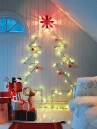 la luz de pared de árboles de navidad cristmas