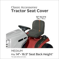 amazon com classic accessories 12324 deluxe riding lawn mower