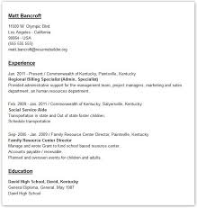 Simple Resume Builder Examples Of Marketing Resumes Resume Examples And Free