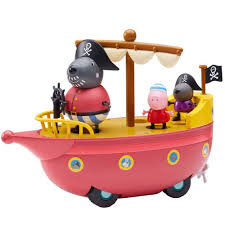 peppa pig grandad dog u0027s pirate boat toys