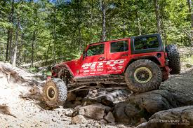 big red jeep boulders to the bayou the 2017 nitto tire jk experience big river