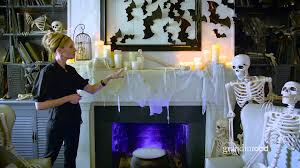 how to decorate a halloween mantel grandin road youtube
