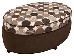 ora oval storage ottoman oval ottoman with storage large storage ottoman footstool coffee